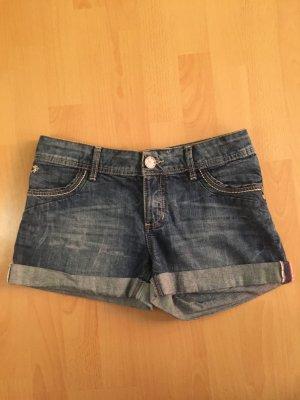 Hose shorts dunkelblau