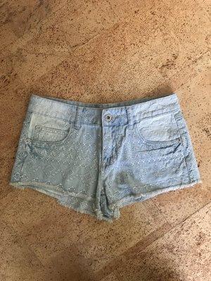 Hose Shorts jeans shorts mit Muster Größe 8 / 36 / S NEU