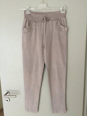 Pantalon or rose