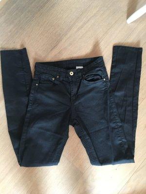 Hose Skinny Jeans schwarz Basic Gr. 26/32