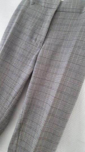 Hose#Slacks grau mit Hahnentritt-Muster Gr. 42