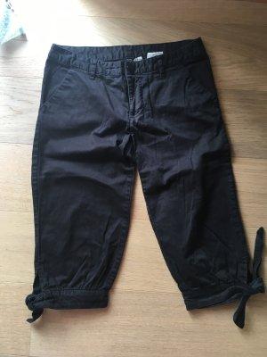 Hose Stoffhose Capri 7/8 Freizeithose schwarz Gr. 36