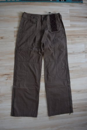 Esprit Pantalone cargo multicolore Cotone