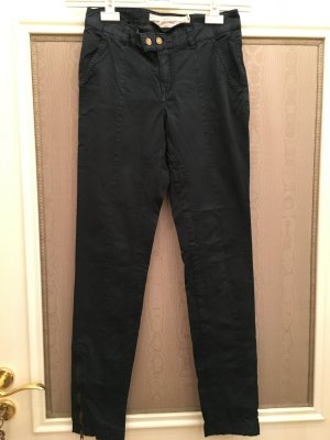 Hose Stoffhose Chino dunkelblau Gr. 34