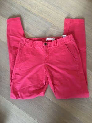 H&M Chinos bright red-red