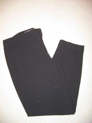 Hose Stoffhose Chino verkürzt schwarz Gr. 36 ASOS