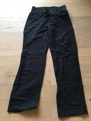 Hose Stoffhose für Zuhause Joggingshose schwarz Gr. 34