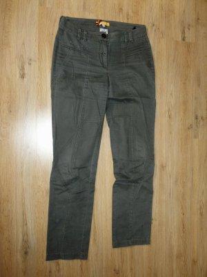 Biba Pantalone jersey grigio Cotone