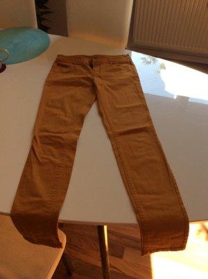 Hose Stoffhose Größe 34 Senfgelb selten getragen, wie neu