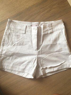 Hose Stoffhose kurze Hose Chino Shorts weiß chic Gr. 38