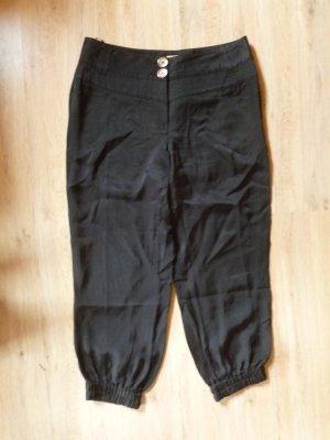 Biba Pantalone a 7/8 nero Viscosa
