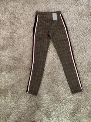 Zara Basic Hoge taille broek veelkleurig