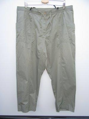 Vintage Pantalon 7/8 vert olive-kaki