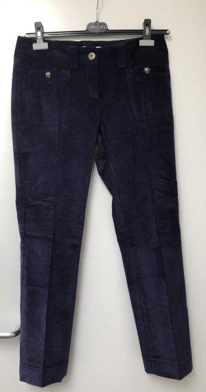 Sportmax Code Corduroy Trousers dark violet