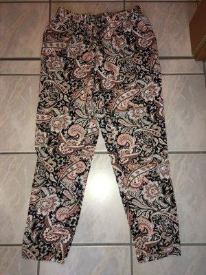 Hose Vero Moda schwarz, rosa, rot, weiß in Größe L