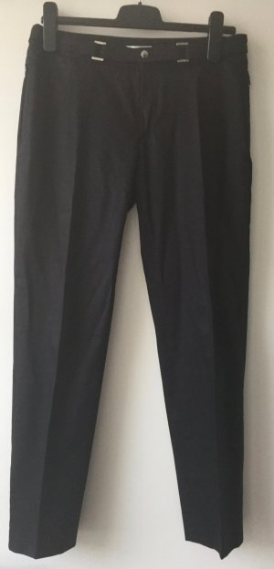 Versace Jeans Trousers black-light grey cotton