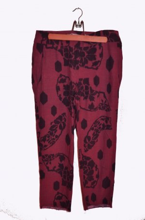 Mango Pantalon 7/8 multicolore viscose