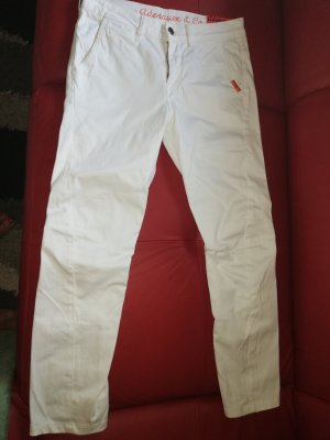 Adenauer & Co Pantalon blanc