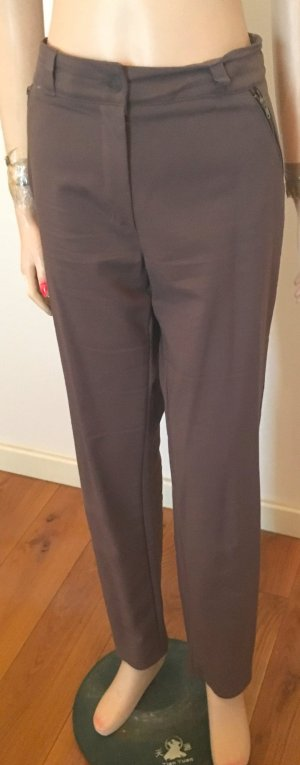 Mango collection Pantalone da cavallo marrone chiaro Cotone