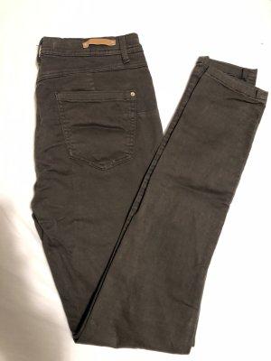Bershka Drainpipe Trousers multicolored