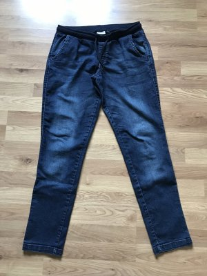 Blue Motion Boyfriend Trousers blue-dark blue