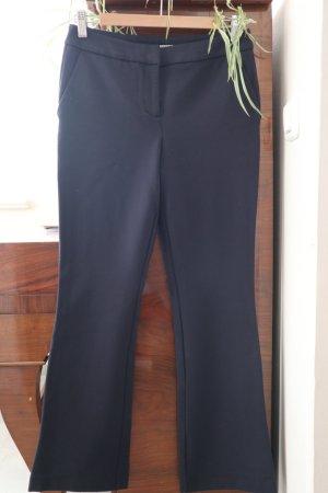 Pantalon strech bleu foncé viscose