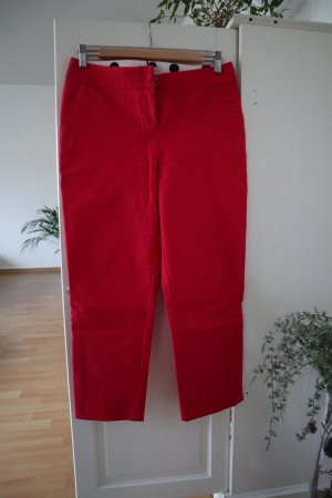 Boden Pantalon strech magenta coton