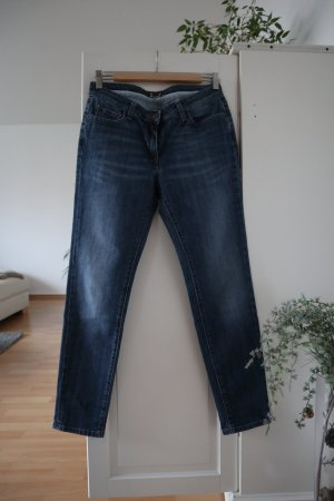Boden Low Rise Jeans dark blue cotton