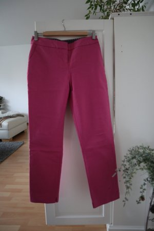 Boden 3/4 Length Trousers raspberry-red cotton