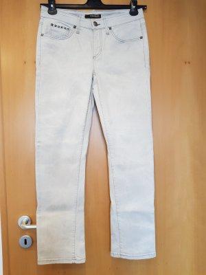 Cambio Jeans a carota grigio chiaro