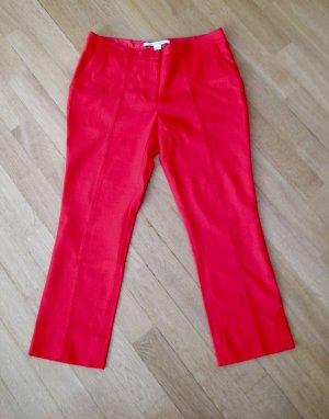 Diane von Furstenberg Pantalón tobillero rojo Viscosa