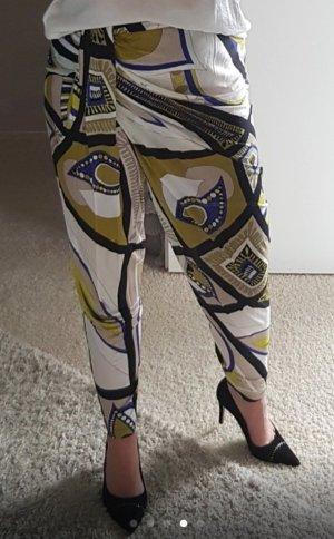 Emilio Pucci Harem Pants multicolored viscose