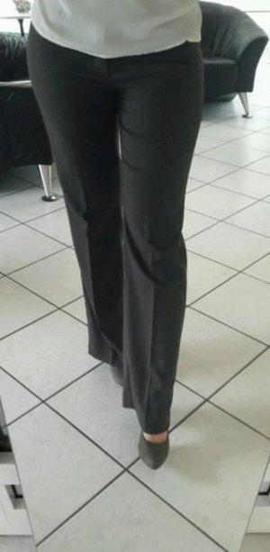 Hose von Esprit Anzugshose Stoffhose 36 S Hose grau taupe Business