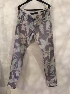 Guess Low-Rise Trousers multicolored