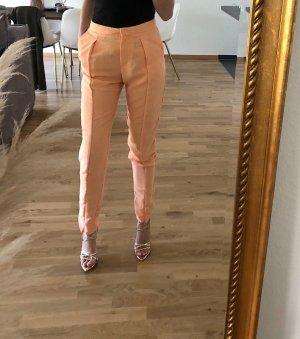 H&M Pantalone a pieghe albicocca