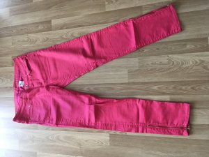 H&M Low-Rise Trousers raspberry-red