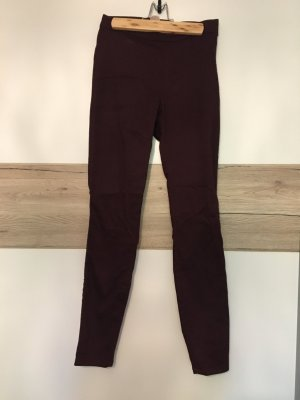 H&M Jeggings bordeaux