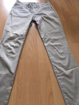 Pippa & Jean Low-Rise Trousers beige cotton