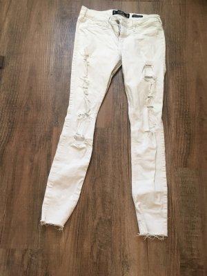 Hollister Skinny Jeans white