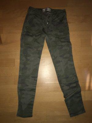 Hollister Pantalón de color caqui caqui
