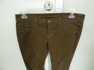 J brand Pantalon cinq poches gris vert-ocre