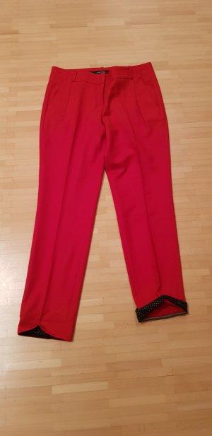 Marc Cain Pantalon en laine rouge laine vierge