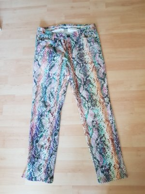 Marc Cain Stretch Trousers multicolored cotton
