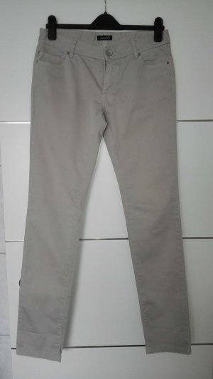 Massimo Dutti Five-Pocket Trousers sand brown-camel