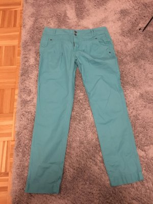 Only Pantalone chino azzurro-turchese