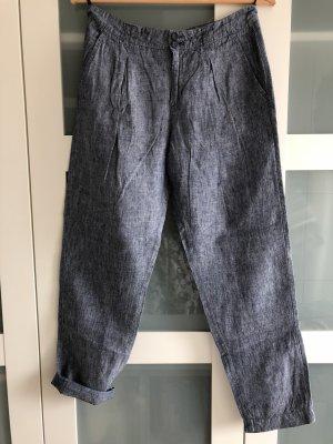 Hose von Opus, 36, hellblau, Bundfaltenhose
