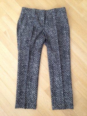 Prada 7/8-broek zwart-wit