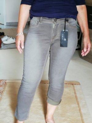 Raffaello Rossi 3/4-jeans groen-grijs