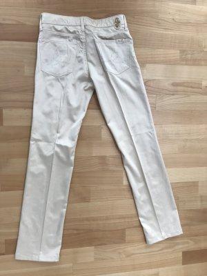 Seven Pantalón color oro tejido mezclado