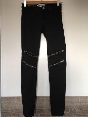 Tally Weijl Pantalon taille basse noir